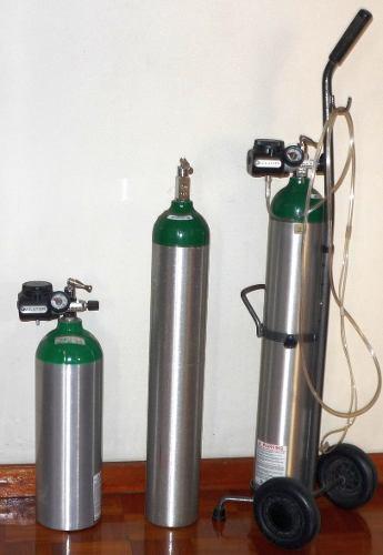 Bombonas De Oxigeno Portatiles Con Dosificadores