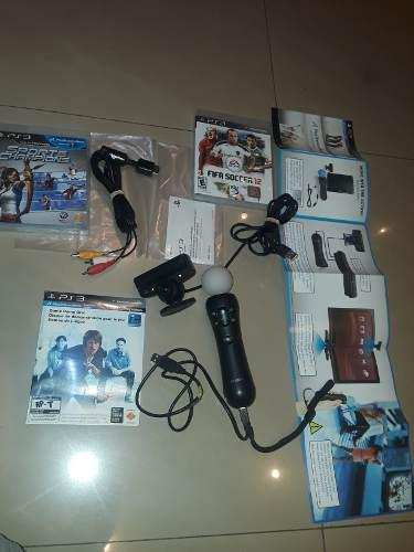 Control Move Play Station 3 + Cam Y Juegos