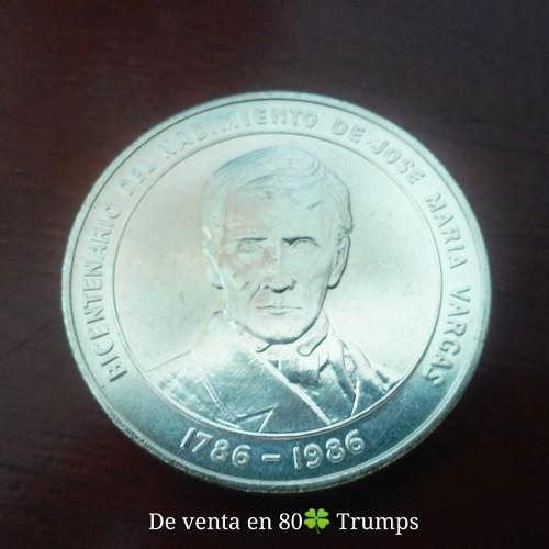 Moneda 100 Bs. Coleccion Plata