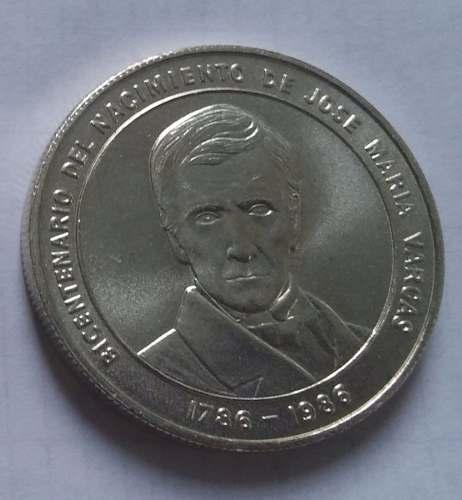 Moneda De Colección Bicentenario De José María Vargas