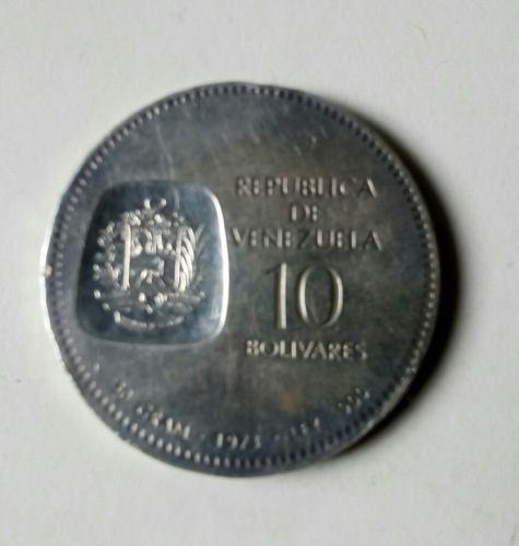 Moneda De Plata Doblon Simon Bolivar