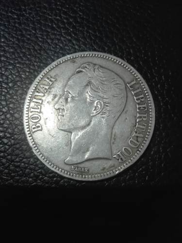 Moneda De Plata Fuerte
