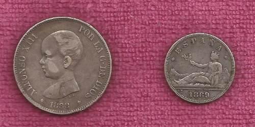 Monedas Antiguas De Colección Españolas