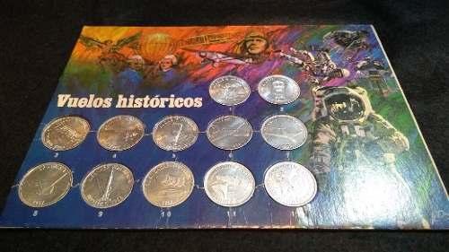 Monedas Shell Colección De 12 Completa Más Álbum