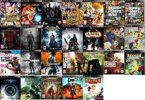 Ps3 Slim Playstation 3 Vendo O Cambio (24 Juegos)