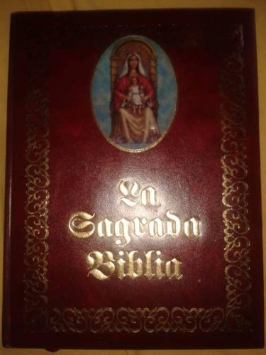 Biblia Católica La Sagrada Familia