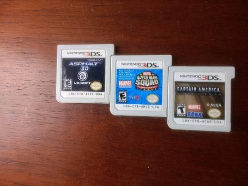 Combo De Juegos Para Nintendo 3ds