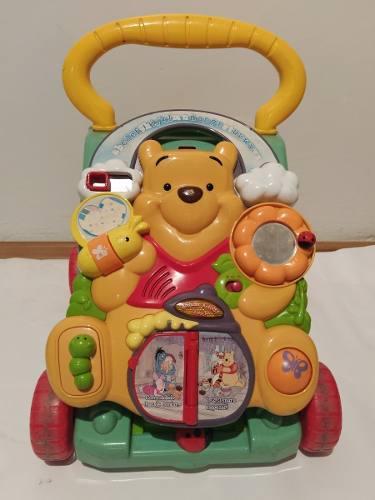 Correpasillos Andadera Vtech 2 En 1 De Winnie Pooh, Usado