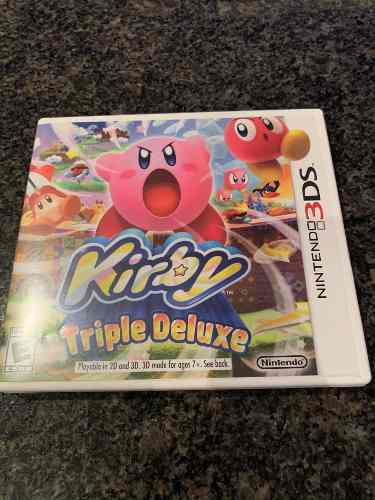 Juego Nintendo 3ds Kirby Triple Deluxe(15)