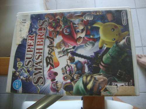 Juego Para Wii Super Smashbros Original
