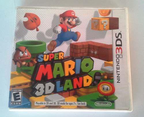 Juego Super Mario 3dland Nintendo 3ds Original