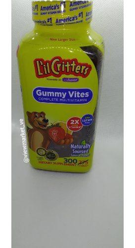 Lil Critters Multivitaminico Para Niños 300 Gummies