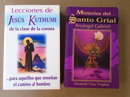 Lote 2 Libros De Las Enseñanzas De Los Maestros Ascendidos.