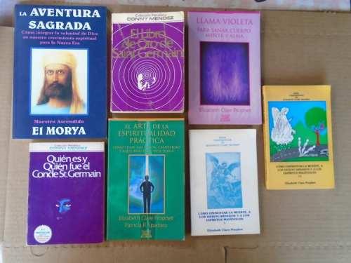 Lote 7 Libros De Las Enseñanzas De Los Maestros Ascendidos.