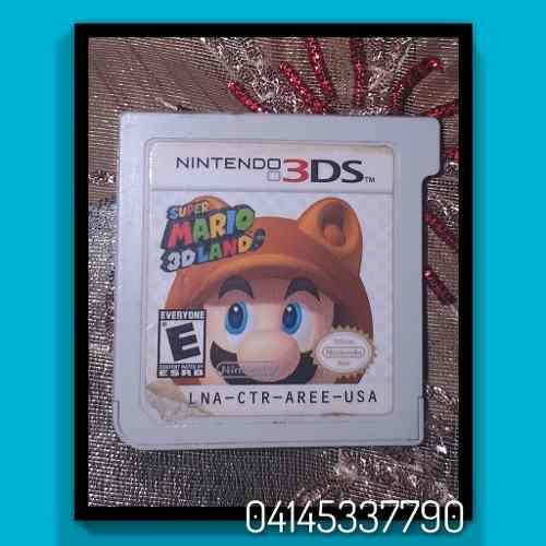 Super Mario 3d Land Juego 3ds