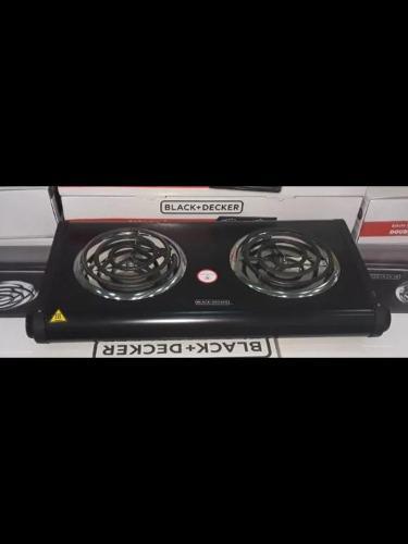 Cocina Eléctrica 2 Hornillas Black And Decker