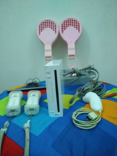 Consola Nintendo Wii Con Juegos