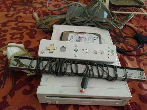 Nintendo Wii Original Con Chipeo Virtual Y Disco De 250gb