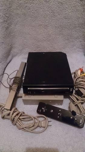 Oferta Navidad Nintendo Wii Negro Con Todos Sus Accesorios