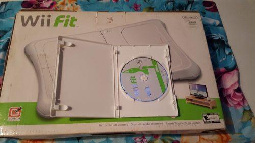 Tabla + Juego Original Wii Fit Plus Para Nintendo Wii Y Wiiu