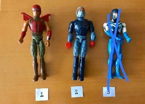 Muñecos Max Steel (Originales) En Muy Buen Estado
