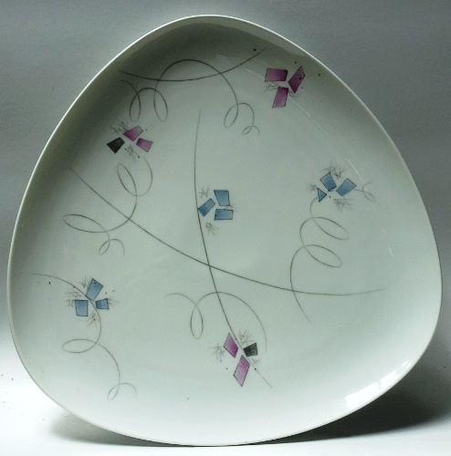 Oferta Plato De Pared Porcelana Triangular Hutschenreuther