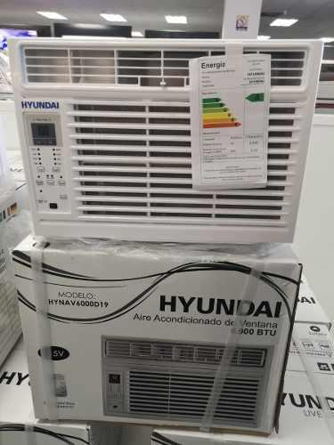 Aire Acondicionado De Ventana 6000 Btu Hyundai Nuevo