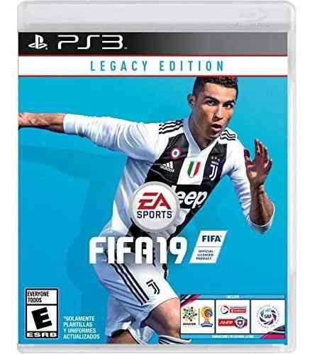 Fifa 19 Legacy Edition Para Ps3. En Físico Nuevo Y Sellado.