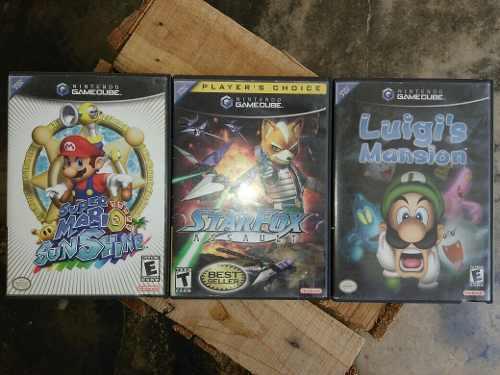 Juegos Para Nintendo Gamecube Originales 3 X 35 Verdes