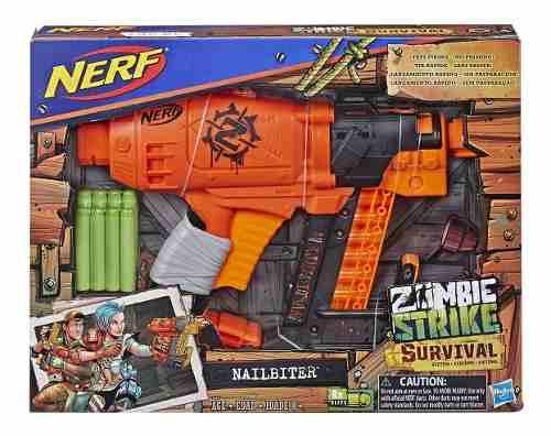 Nerf Nailbiter Zombie Strike Toy Blaster - 8 Dardos Oficiale