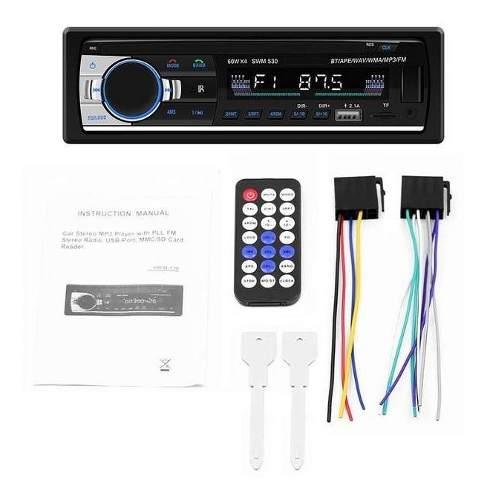 Reproductor De Carro Bluetooth Usb Aux Sd 25v Oferta