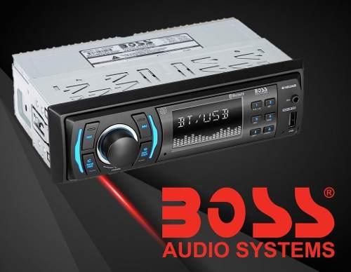 Reproductor De Carro Radio Boss 616uab Bluetooh Usb Original