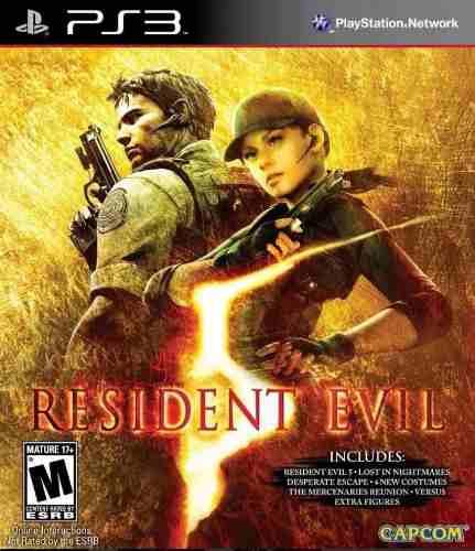 Resident Evil 5 Gold Ps3 Digital Original + Todos Los Dlcs