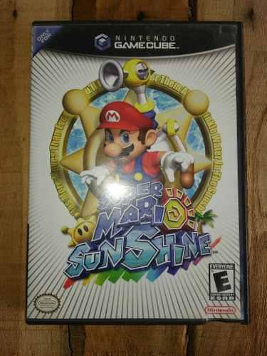 Super Mario Sunshine Gamecube Juego Original (15 Verdes)