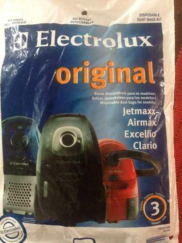 Bolsas Para Aspiradora Electrolux Jetmaxx Airmax Excellio Cl