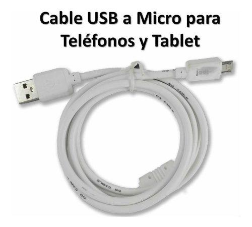 Cable Micro Usb Grueso Alta Calidad