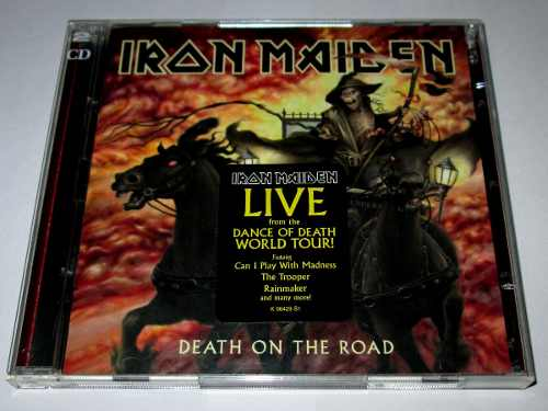 Cd Iron Maiden, Death On The Road, Live