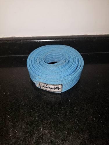 Cinturón De Karate Color Azul