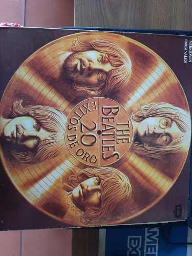 Disco De Vinyl, Lp The Beatles 20 Exitos De Oro. Colección