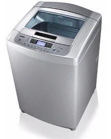Lavadora Automática 10 Kilos Gris Nueva