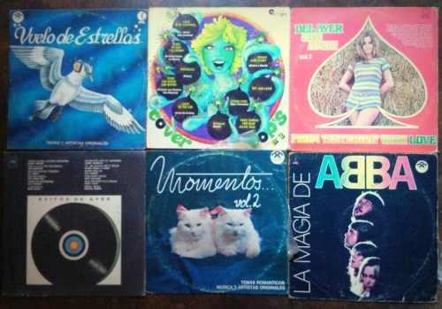 Lote De 35 Discos Lp Vinil De Musica Variada Coleccionables