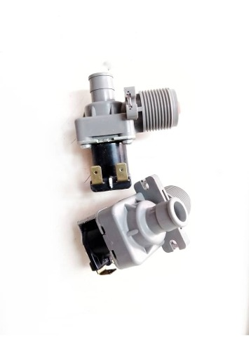 Válvula De Entrada De Agua De Lavadora Electrolux