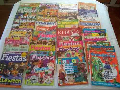 40 Revistas De Manualidades Con Patrones En Oferta