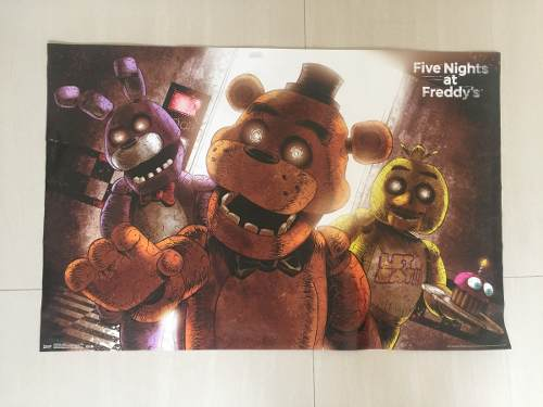 9 Afiches Five Nights At Freddys*
