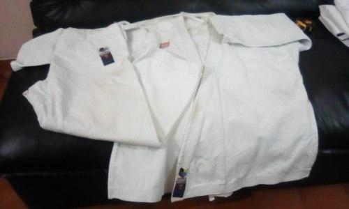 Karategui Bushido T5 Juv Pesado Competencia Wkf 100% Algd