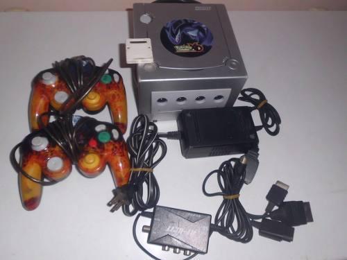 Nintendo Gamecube, 2 Controles,memory Card, Fuente De Poder