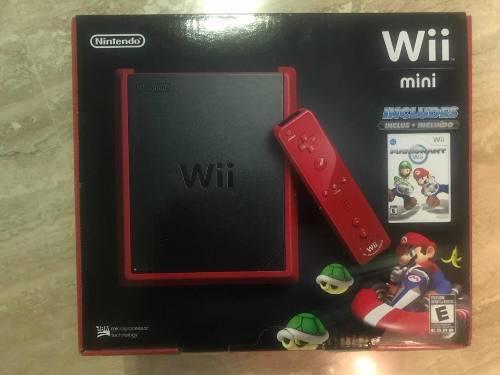 Nintendo Mini Wii + Juego De Mario Kart (nuevo)