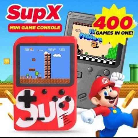 Nintendo Sup Consola De Juegos Portatil 400 Juegos En 1