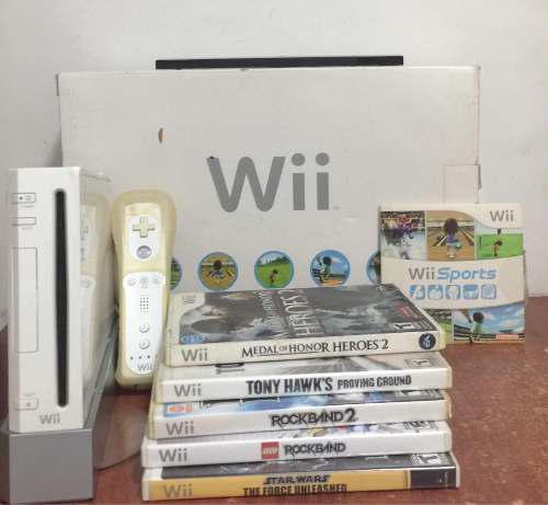 Nintendo Wii Usado En Perfecto Estado