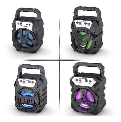 Corneta Portatil Speaker Bluetooth Sd Usb Pendrive Tienda